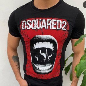 Dsquared Men Black Tee
